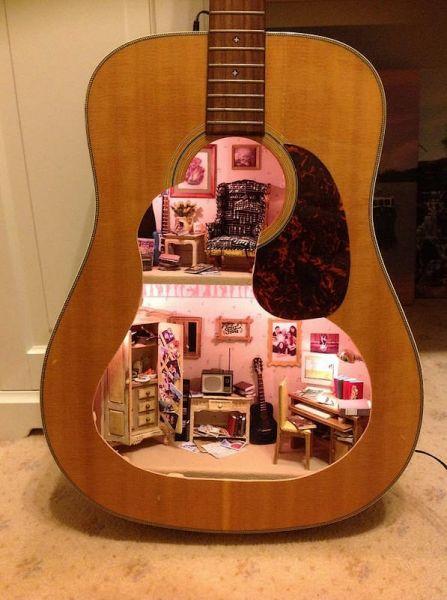 guitare maison