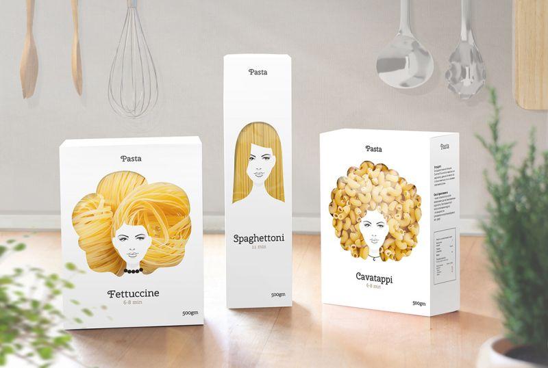 Exceptionnel Concept d'emballage pour pâtes - NetKulture SD01