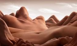 Paysages humains par Carl Warner