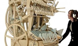 Marble machine par Martin Molin