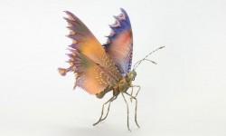 Sculptures d'insectes par Hiroshi Shinno