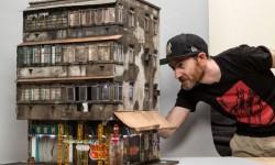 Miniatures urbaines par Joshua Smith