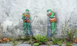 Street art par Jonathan Pauwels