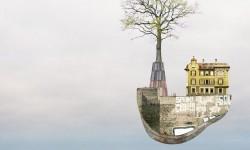 Collages architecturaux de Matthias Jung