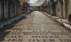 L'art de rue Theory of Time de Daku