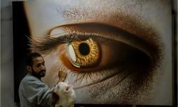 Peintures hyperréalistes de Kamalky Laureano