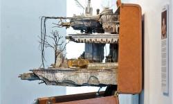 Sculptures miniatures de Mohamad Hafez