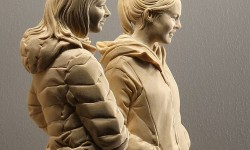 Sculptures bois de Peter Demetz
