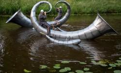 Défilé flottant dédié à Hieronymus Bosch