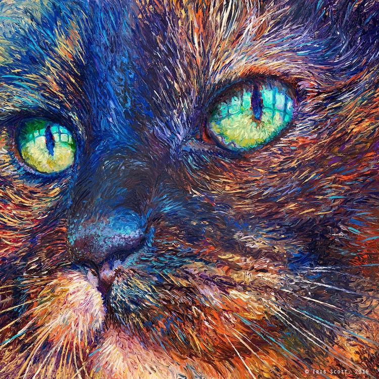 Peintures Avec Ses Doigts Par Iris Scott Netkulture