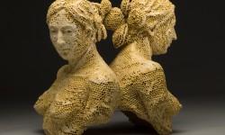 Sculptures céramiques d'Adrian Arleo