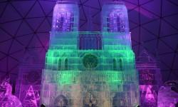Notre Dame de Paris en glace à Hrebienok